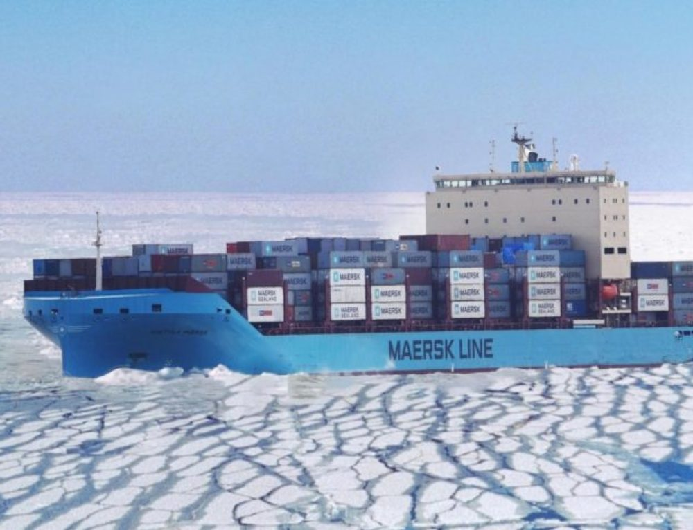 Maersk Container Ship Embarks on Historic Arctic Transit